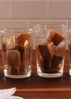 Don't Drink Another Iced Coffee Without Coffee Ice Cubes Delish Homemade Iced Coffee, Best Iced Coffee, Starbucks Coffee, Homemade Quiche, Homemade Pastries, Ice Cube Recipe, Coffee Ice Cubes, Coffee Drinks, Tea Drinks