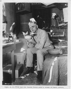 "Burt Lancaster in ""Birdman of Alcatraz"""