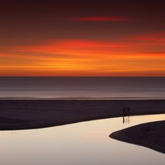 photo by Volker Birke, Henley Beach, Adelaide, 2012 What a beautiful contrast of colors. Amazing Photography, Landscape Photography, Nature Photography, Beach Photography, Color Photography, Romantic Places, Beautiful Places, Beautiful Beach, Beautiful Scenery
