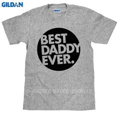 Gildan Unusual T Shirts Novelty Short Best Daddy Ever O-Neck Tees For Men. Item Type: TopsTops Type: TeesGender: MenSale by Pack: NoStyle: FashionCollar: O-NeckBrand Name: GILDANSleeve Length(cm): ShortSleeve Style: RegularFabric Type: BroadclothMaterial: CottonPattern Type: PrintHooded: NoSize: S M L XL XXLColor 01: Black,White,Grey,BlueColor 02: Purple,Red,Navy,Army GreenSeason: Spring Summer AutumnSuit: Man Men Male Homme Adult Young BoysRound Neck Short Sleeve T-Shirt: Fashion Funny…