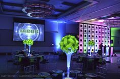 Neon Bar Mitzvah » Party Perfect