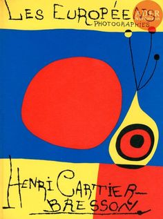 Shop Les Europeens Henri Cartier Bresson and more Trending items from all the best online stores. Henri Cartier Bresson, Joan Miro, Book Cover Design, Book Design, Etudes Studio, Exhibition Poster, Lettering, Typography, Book Photography