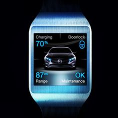 Introducing the Vehicle Homepage. In conjunction with the launch of the B-Class Electric Drive later this year, the Vehicle Homepage will allow important data regarding a user's B-Class to be accessed at all times from their computer, tablet, smartphone, or smart watch. #CES