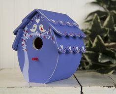 Lovebird House project from DecoArt