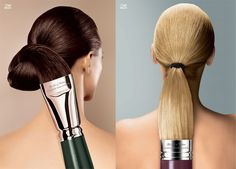 The creativity behind these Koleston Hair Color ads are terrific. They are produced by the Advertising Agency Leo Bu. Creative Advertising, Ads Creative, Print Advertising, Print Ads, Guerrilla Advertising, Shampoo Advertising, Advertising Industry, Marketing And Advertising, Best Advertising Campaigns