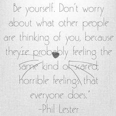 Phil Lester Quote, Dan and Phil Quote, AmazingPhil