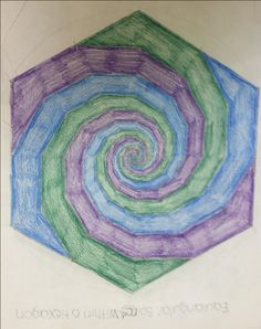 Right around or within middle school, children are taught the […] Form Drawing, Painting & Drawing, How To Shade, Geometric Drawing, Spring Garden, Student Work, Line Art, How To Memorize Things, Kids Rugs