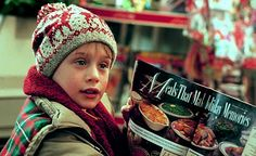 Kevin McAllister- i love watching home alone at christmastime