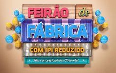 FEIRÃO CHEVROLET by Diego Fellipe Mourao, via Behance