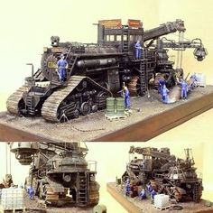 Robot Concept Art, Concept Cars, Post Apocalyptic Games, Mortal Engines, Arte Steampunk, Chihiro Y Haku, Sci Fi Models, Futuristic Cars, Armored Vehicles