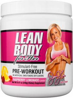 Jamie Eason Signature Series Stimulant Free Pre-Workout Best Supplements e85dd48dd2