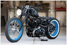 'Seventy Three' Harley Ironhead  #harley #custom #black #kysa