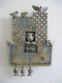 Image result for ceramic sculpture assembly