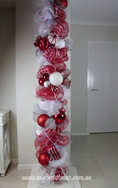 Christmas decorating for your home - Christmas pole instructions.My Christmas Blog