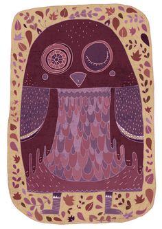 Owl. , via Etsy.