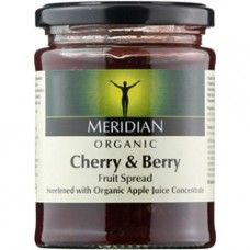 Meridian Organic Cherry & Berry Fruit Spread 284g  http://www.nombox.co.uk/index.php?route=product/product_id=402_id=6199