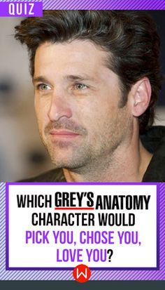 """""""Your choice? It's simple..."""" Derek Shepherd, Mark Sloan, Alex Karev, O'Malley, Jackson Avery...Answer a few questions and we'll tell you which Grey doctor would pick you, chose you, love you! Grey's Quiz, Greys Anatomy test."""