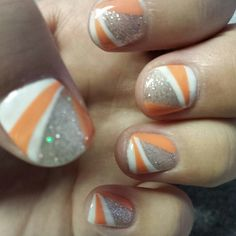 Colorful gel nails :)