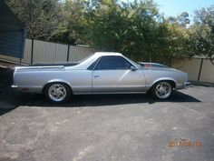 1980s RHD Chevrolet El Camino. There's a few of these in Australia converted to RHD from new.