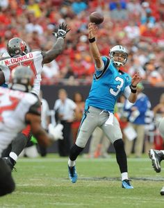 Derek Anderson, Carolina Panthers Panthers Football, Football Helmets, Derek Anderson, Carolina Panthers Team, Nfl Highlights, Panther Pictures, Vince Lombardi, Team Photos, 4 Life