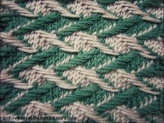 This stitch is a unique stitch that will give your project a wonderful textured look