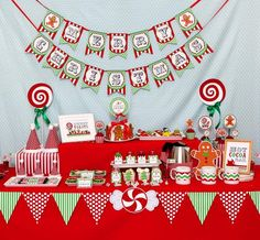 Hostess with the Mostess® - Christmas Sweet Shoppe Holiday Party