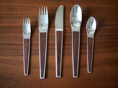 Stanley Roberts Made in Japan Modern Flatware, Cutlery Set, Classic House, Innovation Design, Interior Design, Tableware, Buffets, Spoons, Product Design