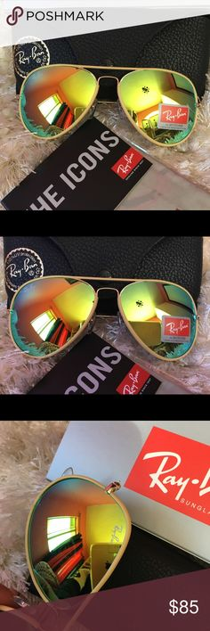 AUTHENTIC RAY BAN AVIATOR 3026 PRODUCT DETAILS 