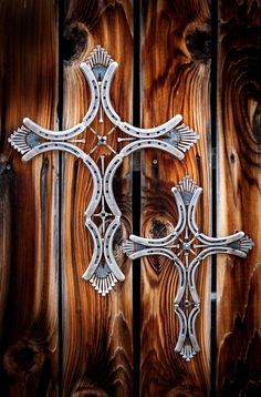 Horseshoe Cross by ProphecyMetalWorks on Etsy