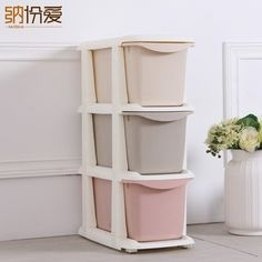 2017 Top Fashion 55L clothes small Storage Box,office accessories, toy storage drawer organizer stash plastic cabinet container  #Affiliate