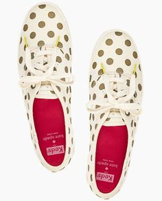 kate spade keds - love the white and navy ones!
