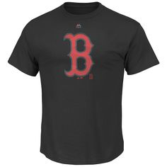 Boston Red Sox Majestic Superior Play T-Shirt - Black - $22.39