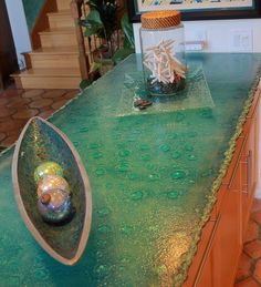 Colorfuse Glass Counter Top By Gomolka Design Studio. Glass  CountertopsCounter TopsFused ...