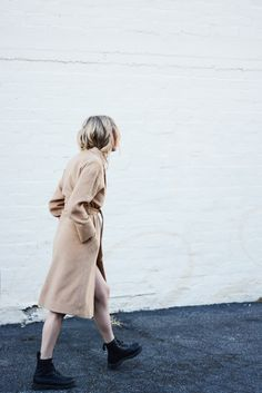 (wearing coat walking away photo): This way —> to great affordable finds @nordstrom