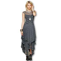 Double Layered Ruffle Dress
