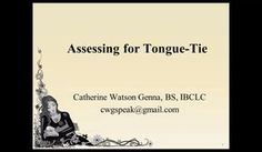 Assessing for Tongue-Tie 11-18-14 1.59 PM 2 on Vimeo