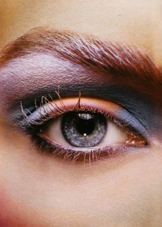 Crazy eye makeup