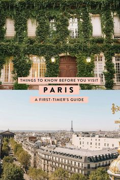 A first-timer's guide to visiting Paris - what to know before you visit. How to get to Paris, how to get around, where to stay, how much to tip, and more! #paris #travel #france #travelguide #traveltips #parisguide