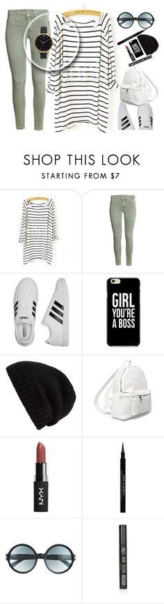 """""""pastel legging"""" by naomy-nona ❤ liked on Polyvore featuring Blanc Noir, adidas, Rick Owens, 7 Chi, Givenchy, Tom Ford, Topshop and Olivia Burton"""