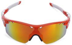 Oakley Sunglasses Orange / Fire Polarized