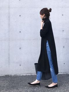 Day and Grade (デイアンドグレイド) Muslim Fashion, Modest Fashion, Hijab Fashion, Korean Fashion, Fashion Outfits, Fall Winter Outfits, Autumn Winter Fashion, Mode Outfits, Casual Outfits