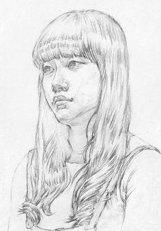 대구화실, 미술, 회화, 정물수채화, 정물소묘, 인체수채화, 인체소묘, 입시미술, 취미미술, 서양화, 유화, 그림 과정작 자료실, 前달동네 그림연구실 Cool Art Drawings, Realistic Drawings, Drawing Sketches, Pencil Drawings, Easy Charcoal Drawings, Charcoal Art, Sketches Of People, Drawing People, Watercolor Portraits