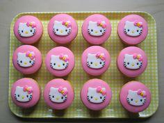 Hello Kitty Cakes And Cupcakes   hello kitty # cupcake # cupcakes
