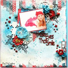 2Crafty Chipboard - February InspirationThree Layouts to ShareBy Di Garling