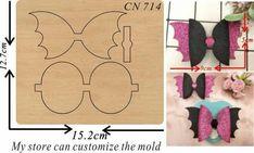 55 Moldes de Laços para Feltro e Eva - Feltro e moldes para artesanato Arts And Crafts, Paper Crafts, Diy Crafts, Cricut Cuttlebug, Bow Shop, Making Hair Bows, Photo Craft, How To Make Bows, Leather Craft