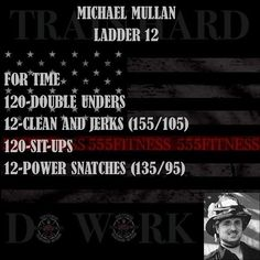 555 Fitness is a Firefighter owned and operated Charity. Our goal is to reduce the leading killer of firefighters cardiac related disease. We do this by providing free workouts nutritional advice and fitness equipment to firefighters in need. Hero Workouts, At Home Workouts, Killer Workouts, Workout Names, Wod Workout, Boxing Workout, Fitness Tips, Health Fitness, Gym Fitness