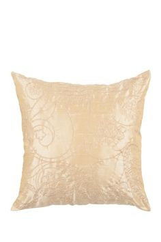 Blonde & Caramel Decorative Pillow