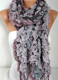Scarf Fall Winter Accessories Cowl Scarf Oversize by fatwoman #shawl -  fashion