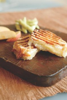 Yum! A three-cheese panini is sure to be a home run for both lunch and dinner.