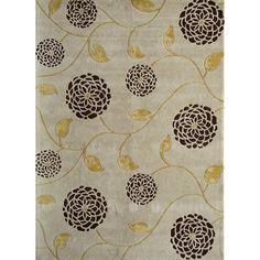 Found it at Wayfair - Allure White Floral Area Rug http://www.wayfair.com/daily-sales/p/Top-Traditional-Rugs-Allure-White-Floral-Area-Rug~RMA2424~E18435.html?refid=SBP.rBAZEVQZ89utHGzPUb_6Alr3u9WkgkaYhziLOM0Kr4A